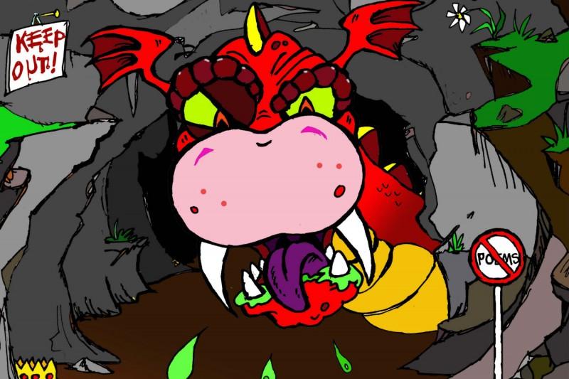 dragon web image