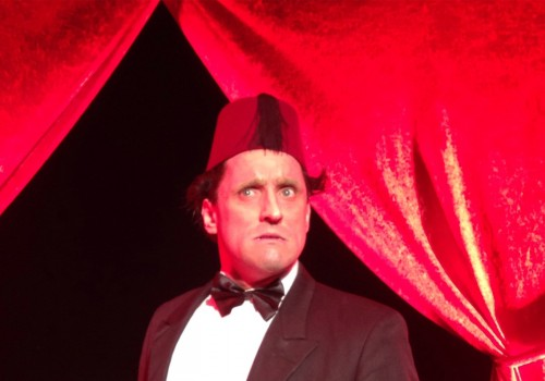 Actor Daniel Taylor as the late Tommy Cooper