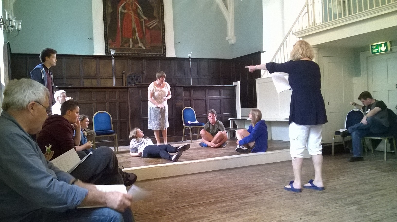 BLOG A Labour Of love blog - In Rehearsals!